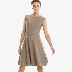 MM Lafleur Toi Dress A Line Sheath Career Wool 10